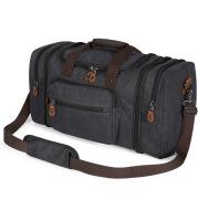 Fashion canvas Travel Tote Luggage Bag auffel bag