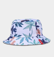 Tide brand fisherman hat men and women Korean version of Harajuku style hat maple leaf color hip hop tide people sun protection sunshade cap