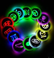Car LED light coaster