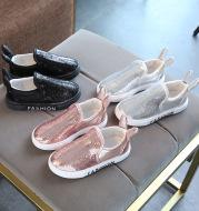 Autumn new girls shoes fashion shoes shoes rabbit white boys shoes shoes feet sequins student shoes