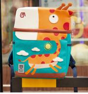 Children's kindergarten Oxford cloth shoulder bag Korean version of the dinosaur cartoon animal backpack