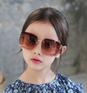 Fashion big box children's sunglasses