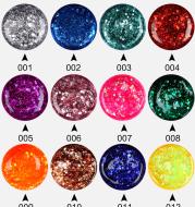 Mada nails detachable phototherapy glue gradient color gel laser sequins nail polish glue glitter gel 1-100 color