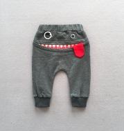2021 boys casual pants autumn loaded Korean children's casual sweatpants baby cartoon loose trousers