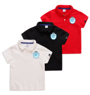 Children's cotton short sleeves