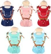 Multifunctional breathable baby carrier ergonomic baby slingshot adjustable belt newborn baby travel strap mother waist back stool