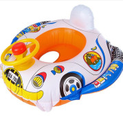 100% Brand New and High Quality Baby Kids Toddler Swimming Pool Swim Seat Float Boat Ring FUN Cartoon Designs