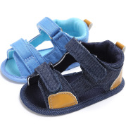 Denim baby Velcro sandals toddler shoes baby shoes