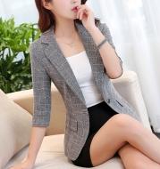 Ladies plaid suit