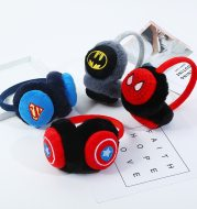 Winter children's stereo cartoon head-mounted plush warm earmuffs baby cute plush cold ear warm wholesale