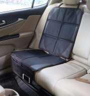 Oxford cloth luxury leather car seat cover child baby car seat protection pad improved protection car seat