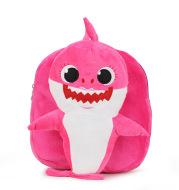 New cartoon boys and girls backpack shoulders cute plush preschool class pupils school bag