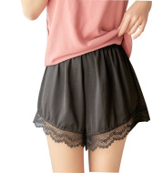 Summer thin women's clothing, a generation of island silk, not cracked silk lace, home wear casual loose shorts