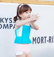 Children's one-piece swimsuit new children's children's swimwear spring girls swimwear factory direct sales