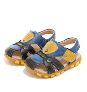 Summer's new baby sandal for children and boy's soft-soled Velcro for beach shoes