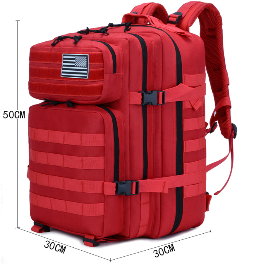Red Backpack Measurements