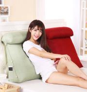 Bedside triangle cushion