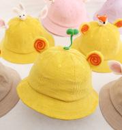 Corduroy children's cap