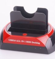 Dual hard drive base IDE/SATA (2.5 and 3.5) without card reader