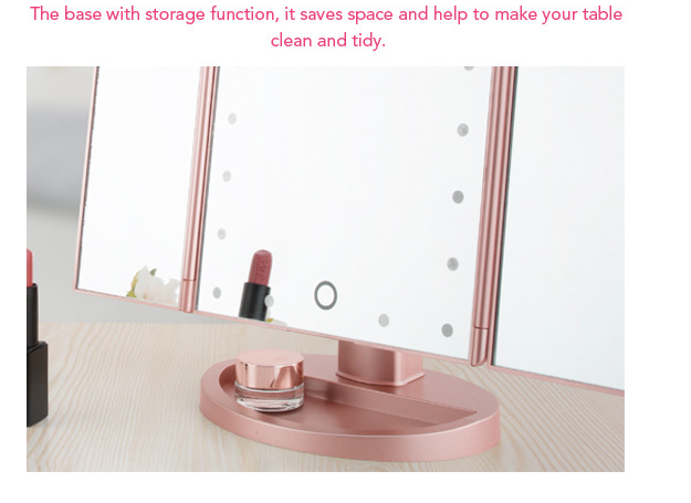 Furniture - HD LED light makeup mirror