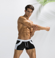 Men's Spandex Swim Shorts