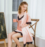 Sling robes two-piece suit home service