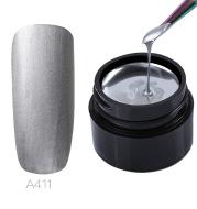 Metallic painted glue
