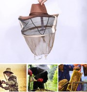 Cowboy anti-bee cap
