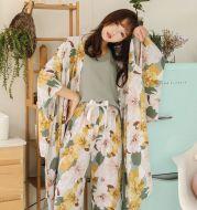 Cotton four-piece pajamas