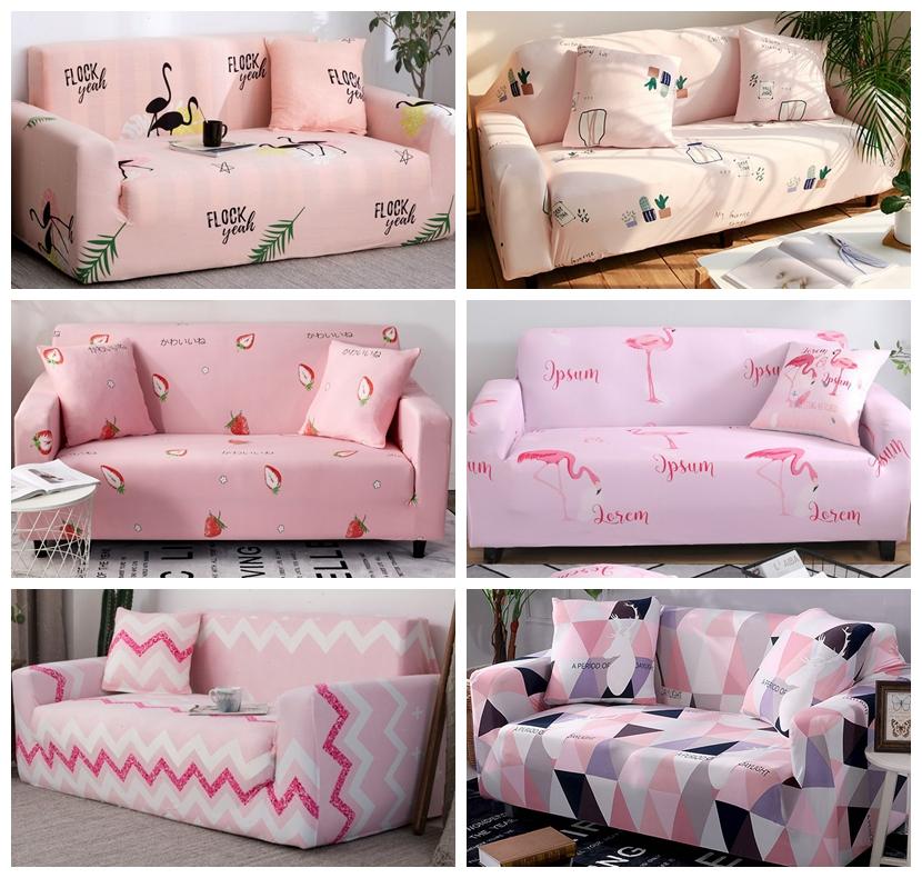 Plusieurs couleurs et motifs de housse à font rose ou fushia disponible sur housse de France