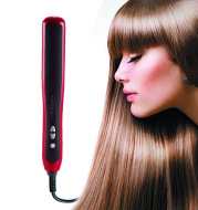 Home automatic adjustable temperature red hair straightener