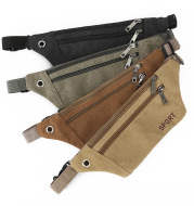 Multi-functional canvas pockets for men
