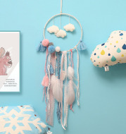 Cloud dream catcher wind chime pendant