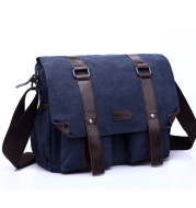 Simple and fashionable canvas casual men's bag