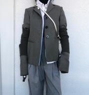 Suit jacket, suit, blouse, small suit