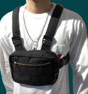 Functional tactical chest bag male vest backpack