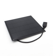 6V 3W 3.5w 4.5w 6W 4/6/8 inch solar panel fan can charge mobile phone