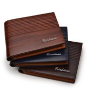 Embossed multi-card fashion wallet