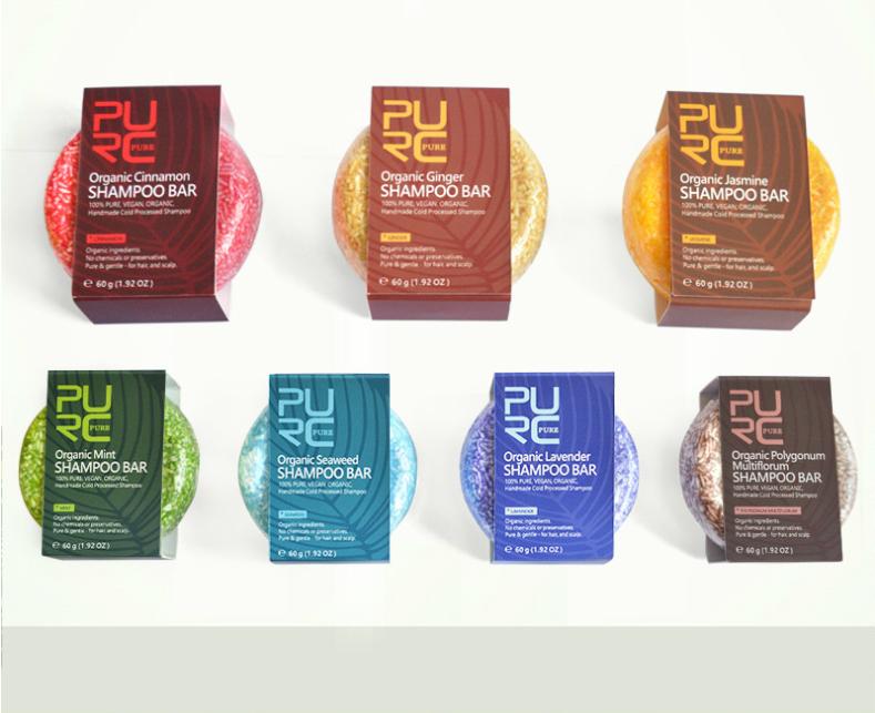 Handgemaakte, Aparte, Organische vegan Heshouwu shampoo voor dagelijks gebruik herstellende haar werking (Heshouwu) multiflorum