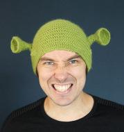 Wool cap creative funny knit hat