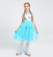 Children's ice romance princess dress