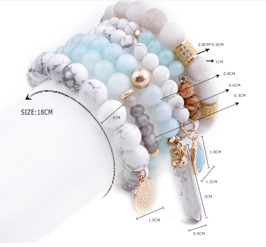 4035116256104 Natural stone bracelet