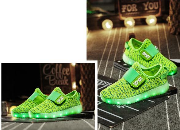 531497245728 Illuminated shoes