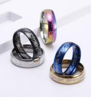 Titanium Steel Ring Men's Ring Ring