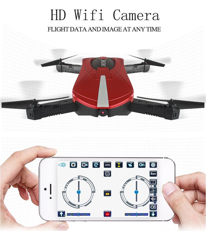 Foldable Arm RC Quadcopter Drone