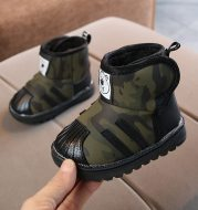Baby soft bottom toddler snow boots
