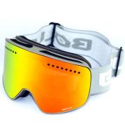 Cylindrical magnet ski goggles double anti-fog ski glasses