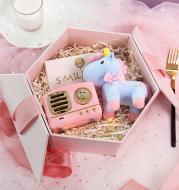 Retro small speaker gift box