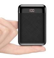 10000 mAh mini digital display mobile power