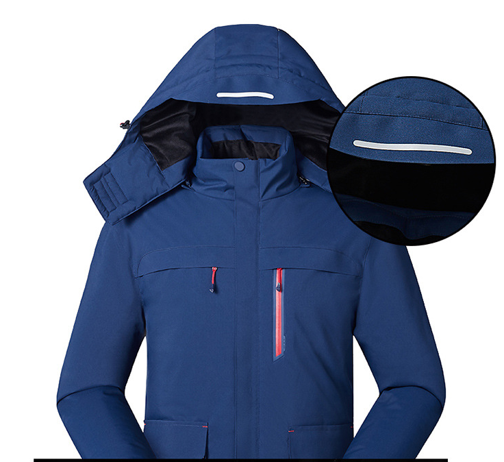 Smart heating jacket fishing suit